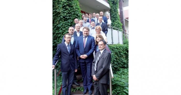 Uczestnicy Sympozjum Przekładnikowego