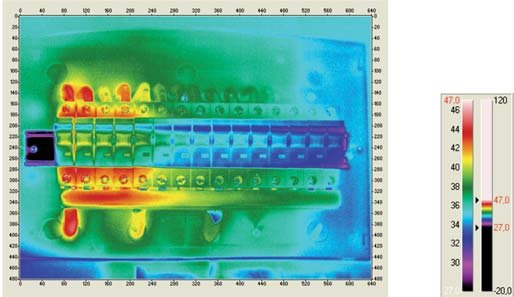 b jak wykonac pomiar kamera termowizyjna rozdzielnicy