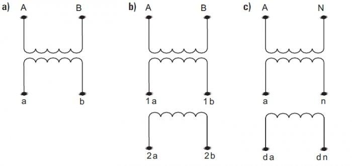 rys 5 oznaczenia wybranych rodzajow przekladnikow napieciowych