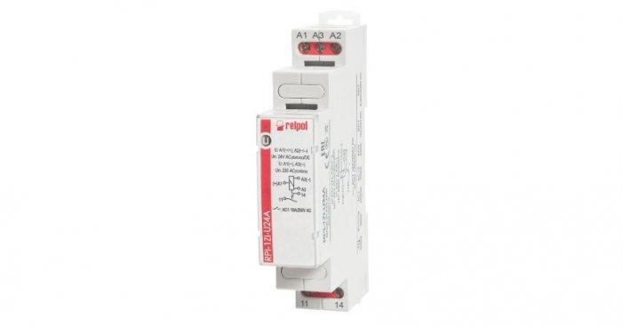 Przekaźnik instalacyjny owysokiej odporności na prąd udarowy