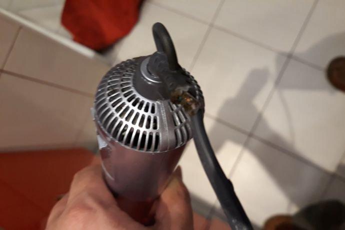 upalony kabel suszarki 0927 030903 2