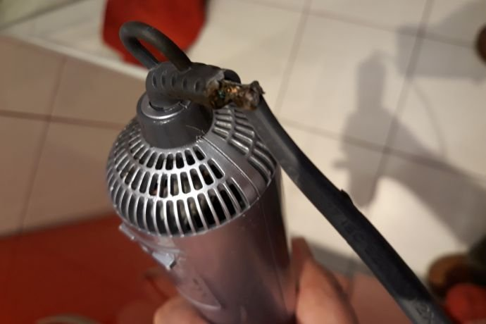 upalony kabel suszarki 0927 030910 2