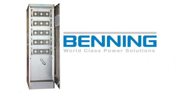 Fot.1. Wielomodułowy UPS 200 kW z modułami Enertronic modular SE BENNING Power Electronics Sp. z o.o.