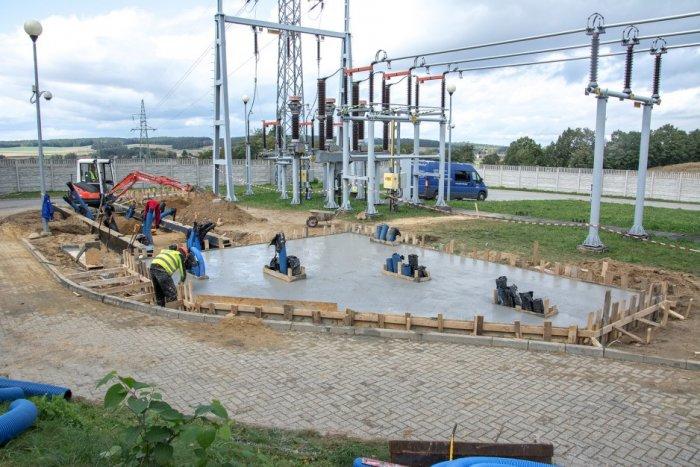W Cieszanowicach powstaje magazyn energii Fot. TAURON