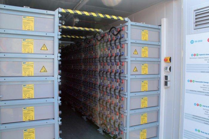 kontenerowy magazyn energii
