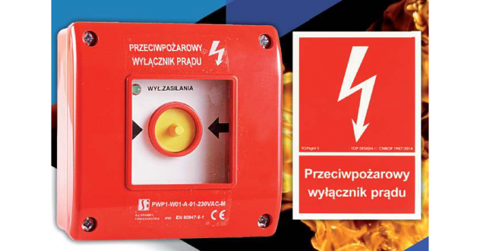 Ręczny przycisk przeciwpożarowego wyłącznika prądu ma za zadanie uruchomić to urządzenie, które odłączy zasilanie budynku od źródła energii elektrycznej podczas pożaru w czasie akcji ratowniczej, odciąć dopływ prądu do wszystkich obwodów...