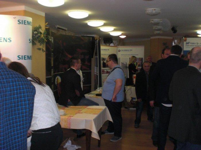 Tradycyjnie konferencji towarzyszyła wystawa produktów związanych z ochroną ppoż.