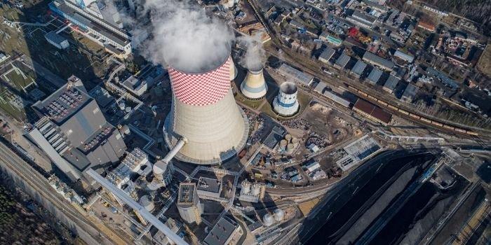 W Jaworznie pierwsza synchronizacja bloku 910 MW zaliczona, fot. TAURON