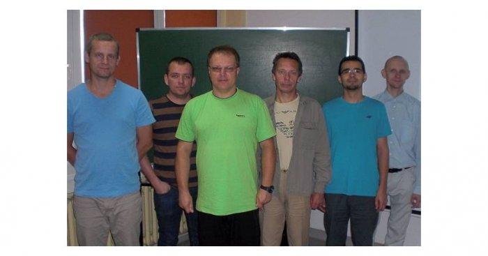 Uczestnicy kursu w ZIAD S.A. Bielsko-Biała Fot. redakcja EI