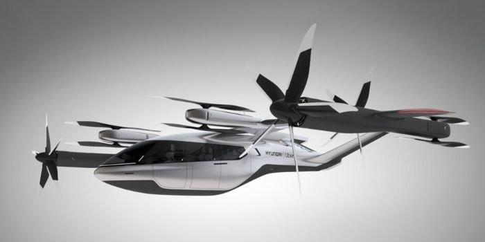 Hyundai i Uber planują wprowadzenie latających taksówek, fot. Hyundai