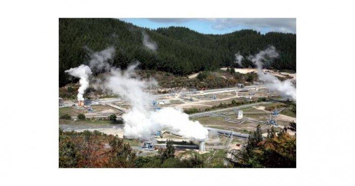 Elektrownia geotermiczna Wairakei w Nowej Zelandii Stefan Gierlotka
