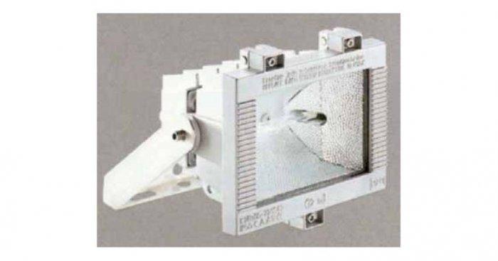 Projektor do iluminacji obiektów wyposażony w lampę metalohalogenkową o mocy 150 W [7]
