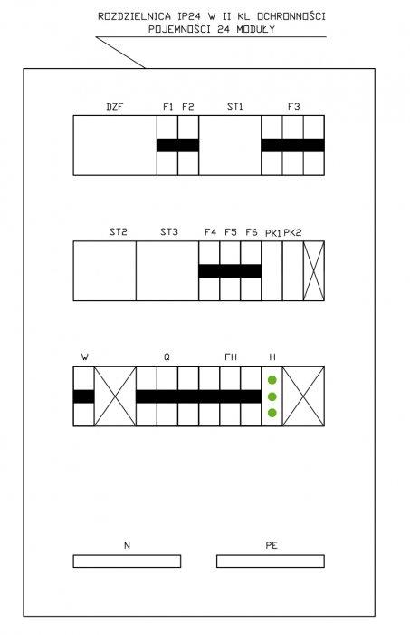 projekt sterowania wentylacja zasilacza ups rys3