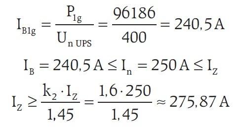 projekt sterowania wentylacja zasilacza ups wzor5
