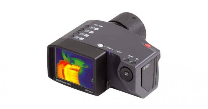 Fot. 1 Przykładowy termogram wyświetlany na kamerze termowizyjnej