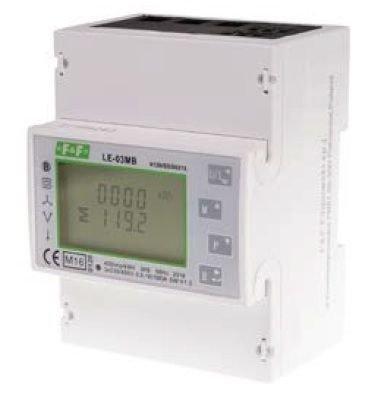 3. Dwukierunkowy licznik zużycia energii czynnej i biernej z analizą parametrów sieci