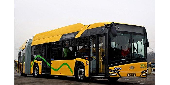 Nowe autobusy elektryczne w Katowicach, fot. Solaris Bus