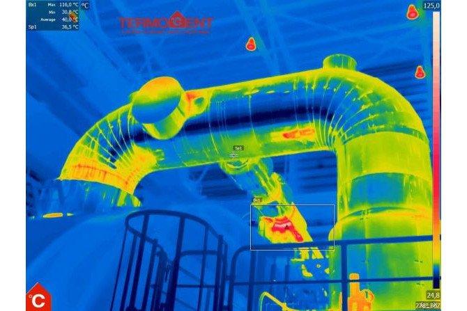 Wykrycie anomalii temperaturowej na urządzeniu przemysłowym