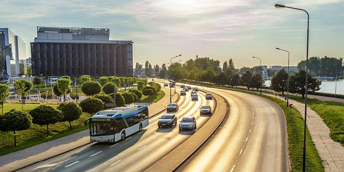 Pierwsze autobusy elektryczne w Malborku, fot. Solaris