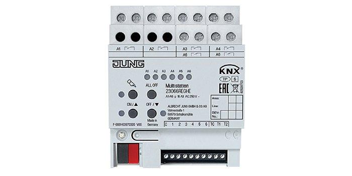 Za pomocą 6 wyjść binarnych oraz 6 wejść binarnych i 6 wejść analogowych oraz 2 wejść do pomiaru temperatury można sterować oświetleniem, żaluzjami i ogrzewaniem, fot. A. Dubrawski