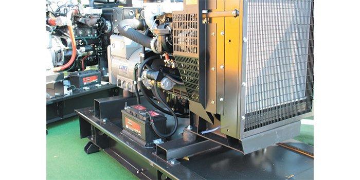Fot. 1. Przykładowa instalacja zespołu prądotwórczego w pomieszczeniu, fot. JT