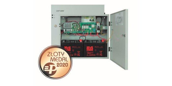 Fot. 1. Zasilacz ZUP-230V jest laureatem Złotego Medalu 2020 w Konkursie Międzynarodowych Targów Poznańskich