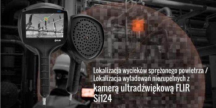 Kamera ultradźwiękowa FLIR Si124