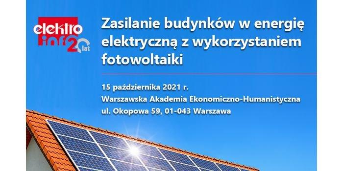 Konferencja jubileuszowa elektro.info