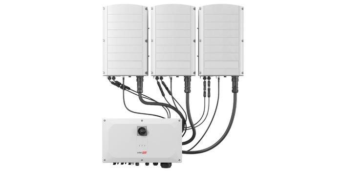Trójfazowy falownik 120vkW firmy SolarEdge z technologią Synergii zwiększa produkcję energii słonecznej w obiektach C&I, jednocześnie skracając czas instalacji i uruchomienia dla instalatorów. Fot. SolarEdge